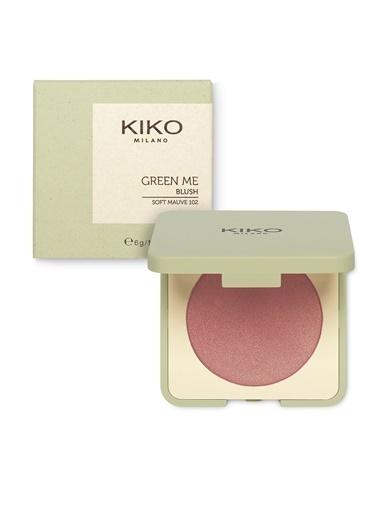 KIKO Milano Green Me Blush - 102 Pembe